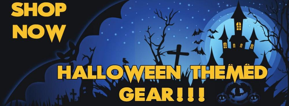 Keep Shooting Halloween Themed Gear Banner