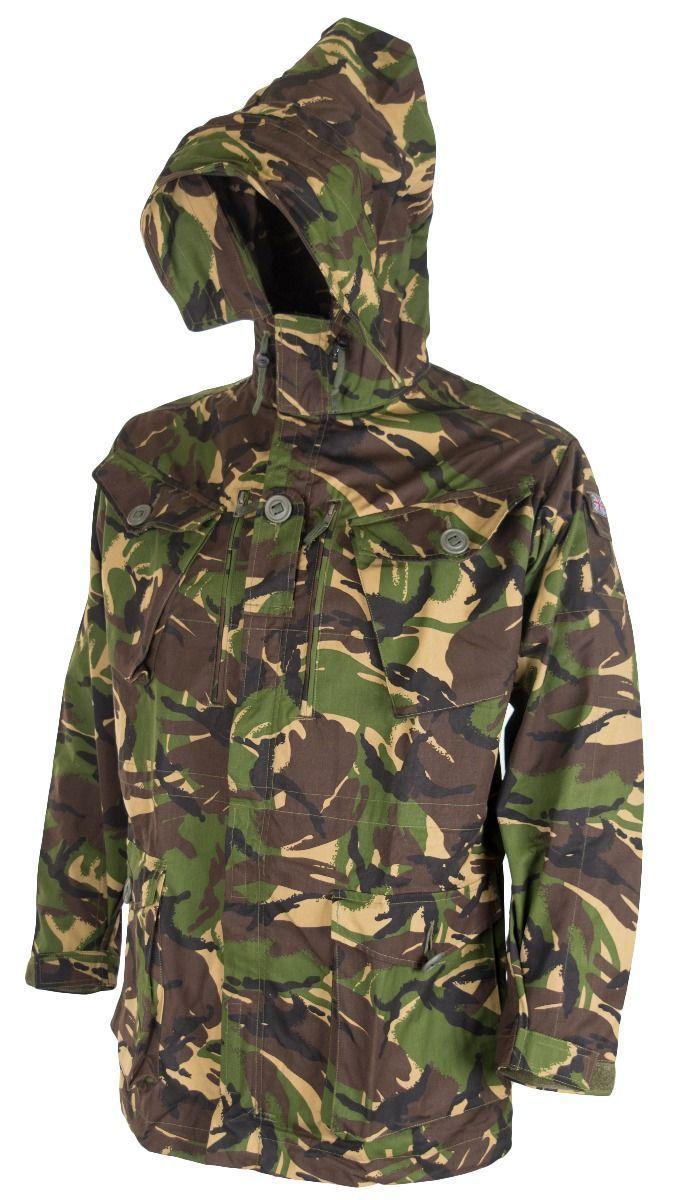Original British army military combat DPM field jacket parka smock windproof
