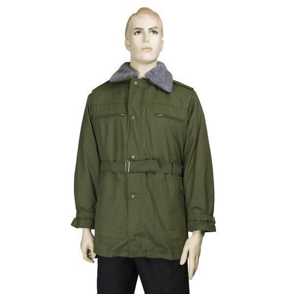 Czech army surplus grey parka with removable liner NEW