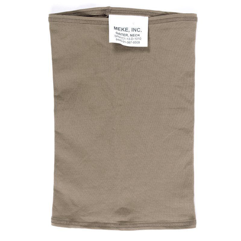 USGI Military Meke Inc Neck Gaiter Coyote Brown NEW WITH TAGS