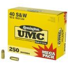 Remington UMC .40SW Mega Pack - L40SW3A