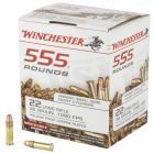 Winchester Rimfire 22 LR 555 Rounds | 36Gr | Hollow Point | 22LR555HP