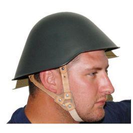East German Military Surplus Helmet Keep Shooting
