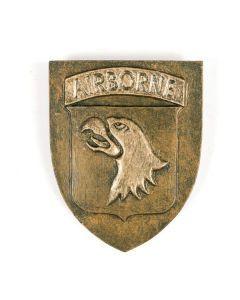 101st Airborne Division Ceramic Plaque