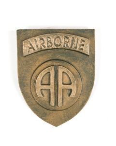 82nd Airborne Division Ceramic Plaque