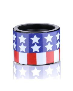 American Flag Thread Protector 1/2x28tpi