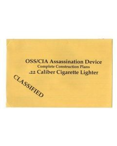 .22 Caliber Cigarette Lighter Plans