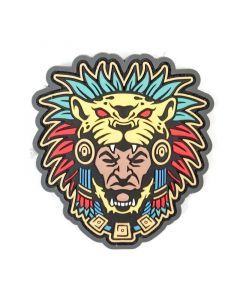 Aztec Warrior Head Morale Patch