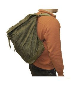 Polish Camouflage Rucksack - Worn on Back (Does Not Show Full Capacity)
