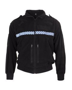 British Police Black Fleece Jacket
