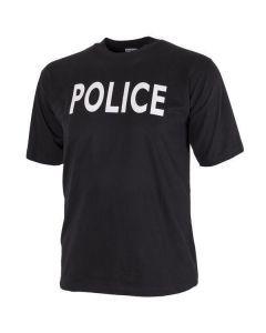 Black Police T-Shirt