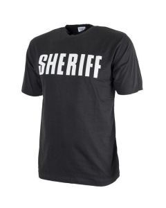 Black SHERIFF T-Shirt