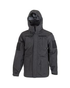 Black Trilaminate Wet Weather Jacket
