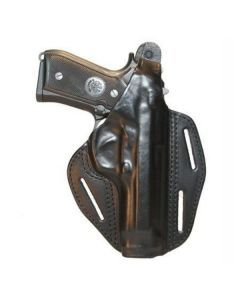Blackhawk 3-Slot Leather Pancake Holster