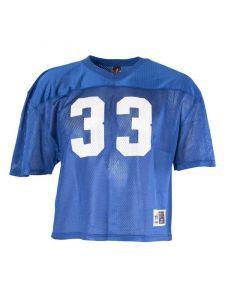 Blue Mesh Football Jersey