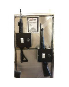 BoomDock Gun Safe - Two Safes with Rifles Inside