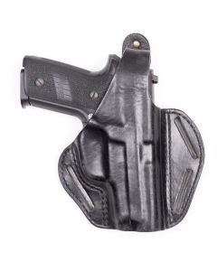 BLACKHAWK CQC 3 Slot Leather Pancake Holster