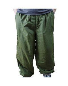 British Army Reversible Thermal Pants - Olive Drab Side