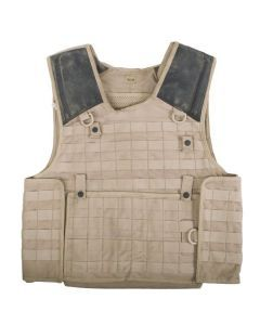British Army Tan Osprey Vest - Early and Rare Osprey Plate Carrier