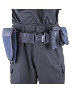 British Home Office Combat Belt with Holster and Pouches