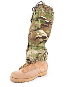 British Army MTP Gaiters - Worn