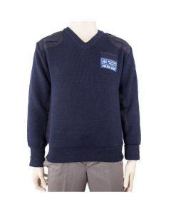 British Police Blue Sweater