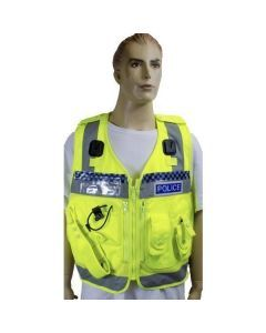British Police Hi Visibility Tactical Vest
