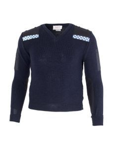 British Police Woolly Pully Sweater