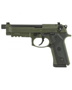 Beretta M9A3 9MM | 17Rd | Black/Green | J92M9A3M2