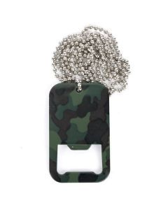 Mil-Tec Dog Tag Bottle Opener