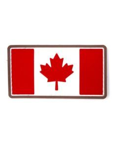 Canadian Flag PVC Patch