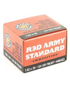 Century Arms Red Army Standard 7.62x39 Ammo
