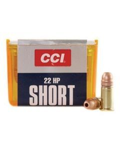 CCI 22 Short Hollow Point Ammunition - 0028