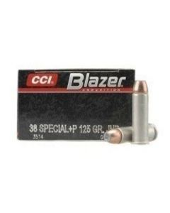 CCI Blazer .38 Special +P