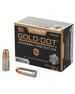 Speer Gold Dot 9mm Ammo - 23617