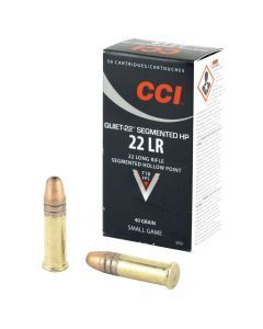 CCI Quiet-22 Segmented Hollow Point 22LR