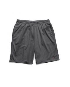 Champion Men's Long Mesh Pocket Shorts