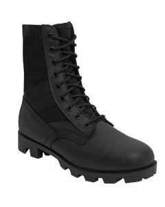 Classic Military Jungle Boots - Black