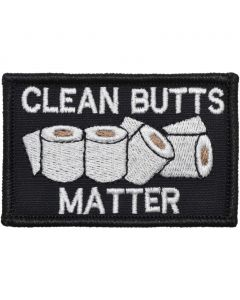 Clean Butts Matter Patch
