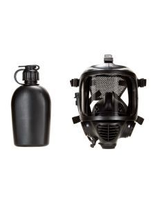 Mira Safety CM-6M Tactical Full Face Gas Mask with Hydration System