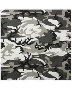 Colored Camo Bandana - City Camo