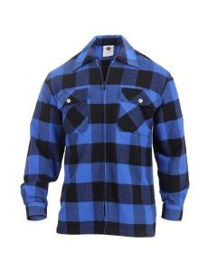 Concealed Carry Flannel Shirt - Blue