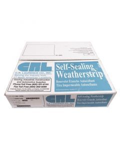 C.R. Laurence AS1456 Two-Piece Self-Sealing Universal Weatherstrip