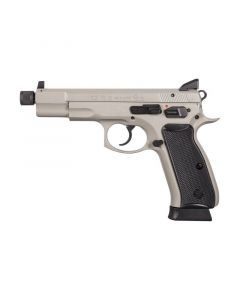 CZ 75B Omega Full Size 9MM | 18Rd | Urban Grey | 91235