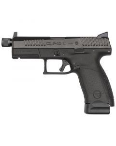 CZ P-10C Suppresor Ready Compact 9MM | 17Rd | Black | 91523