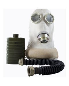 Czech Army Hospital Gas Mask - Full Mask Set