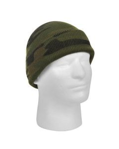 Deluxe Watch Cap - Woodland Camo