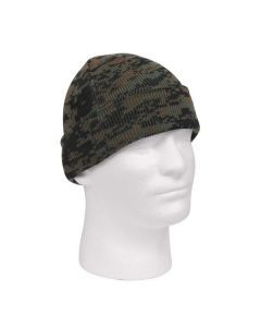 Deluxe Watch Cap - Woodland Digital Camo