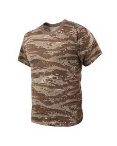 Desert Tiger Stripe Camo Shirt