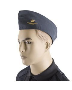 Dutch Air Force Side Cap with Insignia